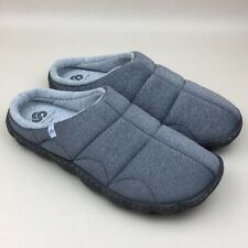 NWT Clarks Cloudsteppers Gray Step Rest Clog Cushioned Jersey Slippers Size 10