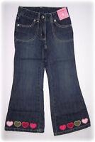 NWT Gymboree Gingerbread Girl Heart Flare Denim Pants ~ Size 8