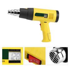 220V 2000W LCD Digital Pistola De Aire Caliente Temperatura Ajustable Soldadura