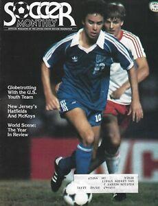 December 1981 Soccer Monthly Magazine