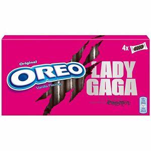 Oreo Lady Gaga Vanillegeschmack Limited Edition 4x4 Kekse 1 Box MHD 30.11.2021