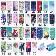 For Samsung Galaxy S3 S4 S5 Mini S6 Flip Wallet PU Leather Card Stand Case Cover