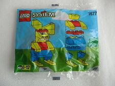 LEGO System Set 1677 coniglio nel 1997 POLYBAG NUOVO E IN SCATOLA ORIGINALE VEDI FOTO