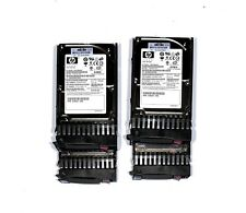 "Lot of 4 x HP 432321-001 72GB 15K SAS 2.5"" SP Hard Drives"