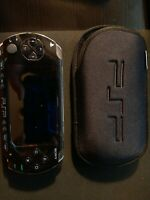 Sony PlayStation PSP 1001- **TESTED**  W/ 5 MOVIES AND 9 GAMES/ BATTERY& CHARGER