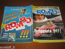 RIVISTA ROMBO 1990/14=SENNA FERRARI?=TOYOTA LJ70/4 RUNNER=