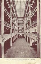 Postcard, Cleveland, Ohio, Sterling and Welch Co., Inner Court