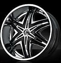 "24"" INCH DIABLO ELITE WHEEL CHARGER GMC CHEVY FORD BMW"