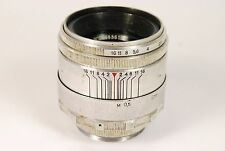 Rare early Helios 44 lens 13 blades 2/58mm for old SLR Zenit M39 mount