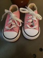 Converse All Star Toddler Size 4 Black Low Tennis Shoes