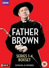 Father Brown Series 1-4 DVD 2016 Region 2