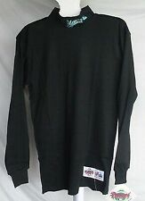 MLB Majestic Long Sleeve Turtleneck Shirt Florida Marlins Black Large