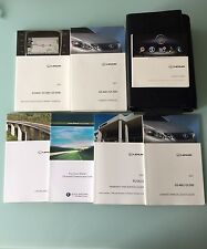 2011 LEXUS GS350/GS450h/GS460 WITH NAVIGATION OWNERS MANUAL SET + FREE SHIPPING