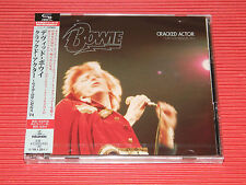 2017 JAPAN ONLY 2 SHM CD DAVID BOWIE Cracked Actor Live Los Angeles '74