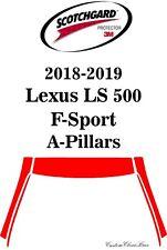3M Scotchgard Paint Protection Film Clear Pre-Cut 2018 2019 Lexus LS 500 F-Sport