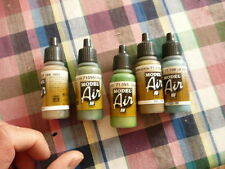 PEINTURE MAQUETTE VALLEJO MODEL AIR ACRYLIC AIRBRUSH 5 X 17ml