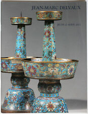 Asian Art, China/Japan Jean-Marc Delvaux Paris 2012 auction catalogue