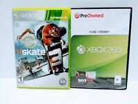 Lot Of 2 Xbox360 Games FUSE & SKATE 3