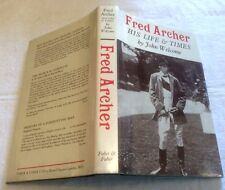 John Welcome Fred Archer in D/J 1967 ** RARE SIGNED COPY **