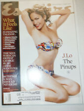 Esquire Magazine Jennifer Lopez & George W. Bush August 2003 031015R