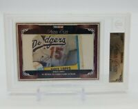 2008 Tristar Signa Cuts DAVEY LOPES Signed Limited Edition /25 Beckett BGS Card