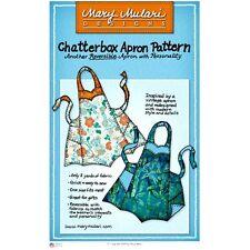 "MARY MULARI DESIGNS ""CHATTERBOX APRON"" Sewing Pattern"