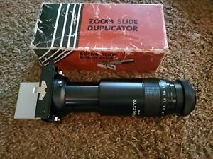 Vintage ZOOM SLIDE DUPLICATOR IN COMPATIBLE T-MOUNT.GREAT CONDITI ONCE COMES IN
