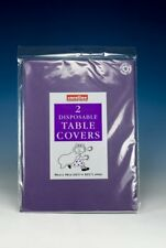 PACK OF 2 PURPLE  PAPER TABLE CLOTHS PARTY HEN STAG BIRTHDAY CHRISTENING