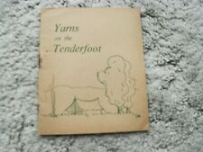 More details for yarns on the tenderfoot  by marguerite de beaumont (author) girl guiding