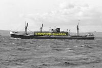 mc0600 - Clan Line Cargo Ship - Clan Maclean - photo 6x4