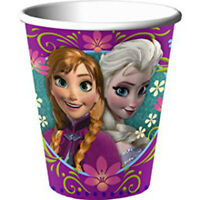 Frozen Party Cup 9oz 8 Pack 266ml License Birthday Party Supplies Tableware Cups