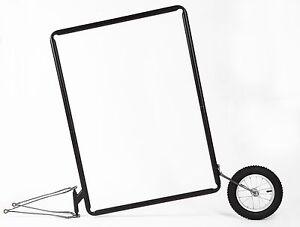 Werbetafel Werbeträger Fahrradanhänger Werbeanhänger für Fahrrad Werbung