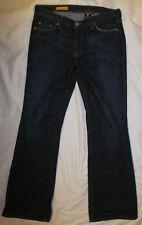 RED ENGINE cotton flare dark wash jeans 30