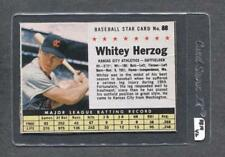 1961 Post #88 Whitey Herzog (Athletics) (RB14)  Vg-Ex  (Flat Rate Ship)