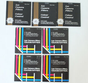 Lee Colour Control Camera Filters Set of 7, 75mm x 75mm