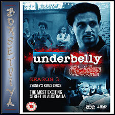 UNDERBELLY - COMPLETE SERIES 3 - THE GOLDEN MILE  *BRAND NEW DVD **
