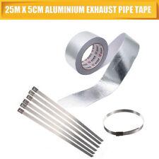 Reinforced Aluminium Foil Tape 5CMX50M +6 metal strips HIGH QUALITY FREE POSTAGE