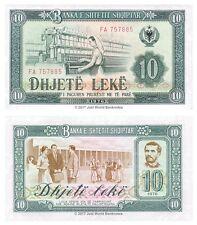 ALBANIE 10 nike 1976 P-43 billets UNC