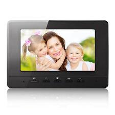 """7"""" LCD Color Intercom Indoor Monitor Home Doorbell Video Door Phone Wired"""