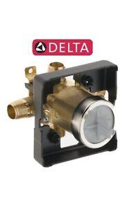 Delta R10000-UNWS MultiChoice Universal Tub Shower Valve Body Rough-In w/ Stops