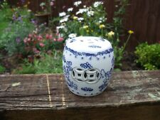 Blue & White Chinese Cricket CAGE/BOCAL ou POT ~ 3""