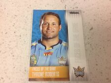 2017 NRL TRADERS FACES OF THE GAME, TYRONE ROBERTS , FG 14/48.