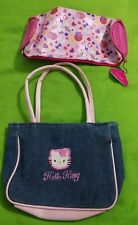 Hello Kitty makeup bag coin purse cosmetic gift set holder