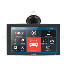 "9"" Portable Auto GPS Systems SAT NAV 3D Map View GPS Navigation Capacitive XGODY"