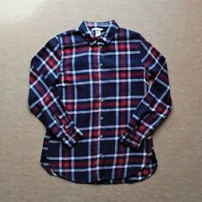Red/White/Blue H&M Checked Pattern Shirt Top (Size EUR 32)