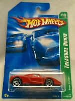 HOT WHEELS TREASURE T HUNT ENZO FERRARI BLACK SEATS VARIATION 2007 RED RARE NEW
