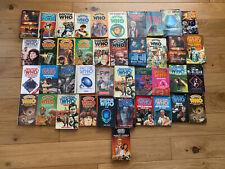 More details for 41x vintage job lot bundle doctor who paperback books mixed doctors d4