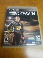 NASCAR 14 (Sony PlayStation 3, 2014)(Complete)(Tested)