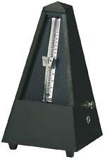 METRONOMO Wittner 816M NERO OPACO SISTEMA Maelzel a piramide legno con suoneria