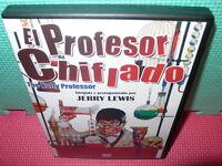 EL PROFESOR CHIFLADO - JERRY LEWIS - dvd